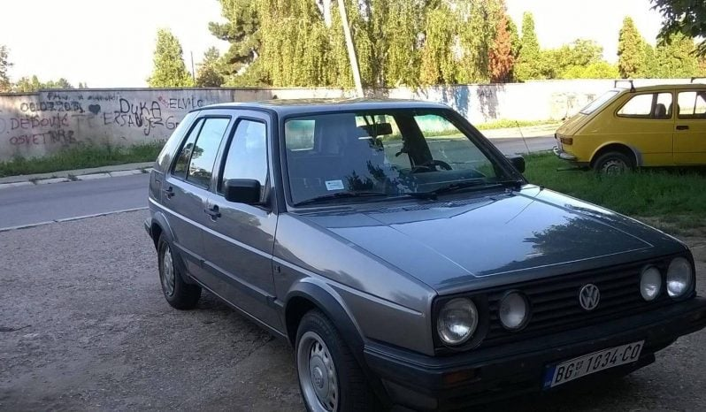 Volkswagen Golf 2 1.6 IZUZZETAN GOLF 1988 full
