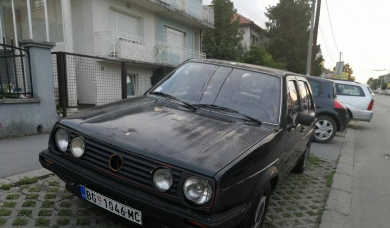 Volkswagen Golf 2 1985 full