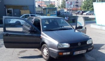Volkswagen Golf 3 1992 full