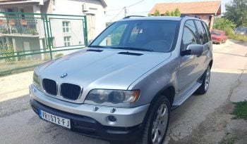 BMW X5 3.0 D 2002 full