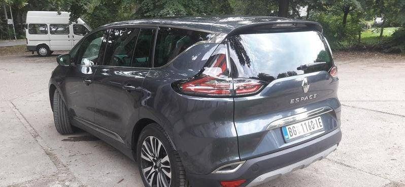 Renault Espace Paris Initiale 2017 full