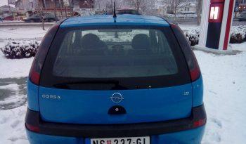 Opel Corsa C 1,2 F U L T O P 2002 full