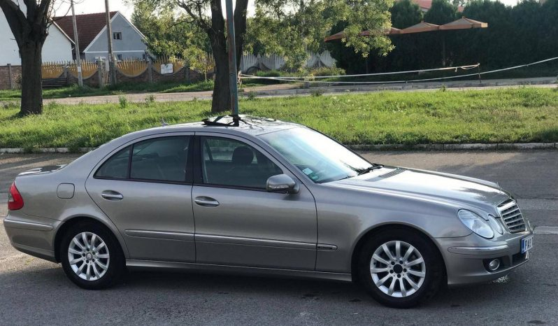 Mercedes Benz E 220 2007 full
