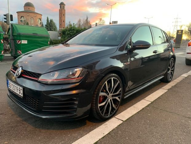 VW Golf 7 GTI Performance full